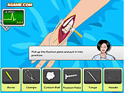 Juega al juego gratis Operate Now: Arm Surgery