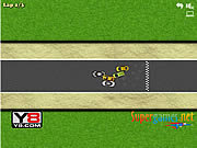 Play Hot Race game