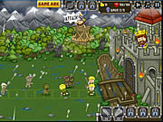Juega al juego gratis Knights vs Zombies