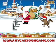 Juega al juego gratis Regular Show Christmas Competition