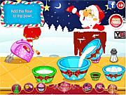 Santa Velvet Cupcakes game