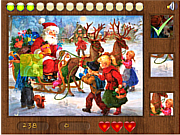 Juega al juego gratis Parts of Picture:Santa_
