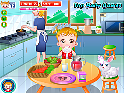 Baby Hazel Stomach Care game