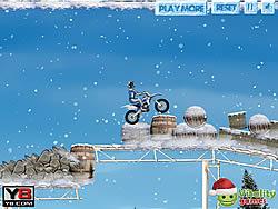 Winter Bike Stunts game