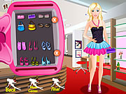 Barbie Stacey in Parlour game
