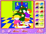 Christmas Fun Coloring game