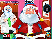 Santa Eye Care Doctor لعبة