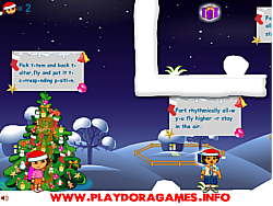 Dora and Diego Xmas Gift game