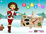 Annie Christmas Dress Up spel