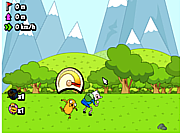 Adventure Time - Jumping Finn game
