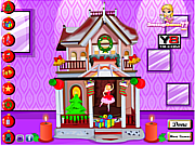 Barbie Christmas House game