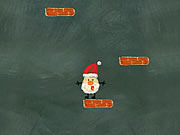 Santa Up There game