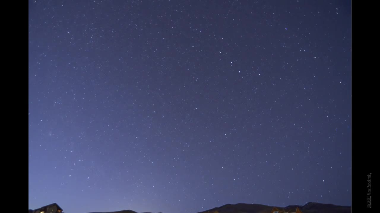 Watch free video Lyrid Meteor Shower in Time Lapse