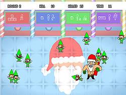 Santas Smack Down game