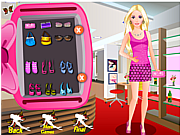 Barbie Studio Makeover game