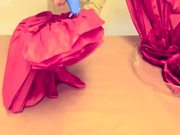 Watch free video How to Make Giant Tissue Paper Flowers