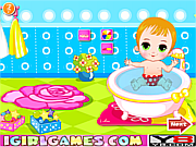 Spielen Sie das Gratis-Spiel  Baby Bathing Games For Little Kids