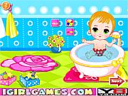 เล่นเกมฟรี Baby Bathing Games For Little Kids