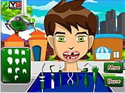 Ben 10 at the dentist