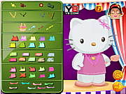 Zoe With Hello Kitty Dressup لعبة