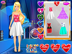 Barbie Valentine Party game