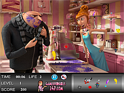 Despicable Me 2 Hidden Objects game