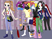 Juega al juego gratis All Styles Dress up