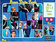 Frozen Winter Puzzle spel