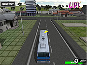 School Bus Parking 3D لعبة