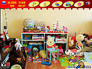 Play Messy Toys Room game
