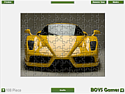 Ferrari Enzo Jigsaw game
