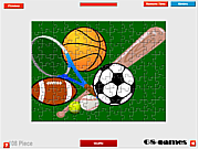 Sport Balls Jigsaw game