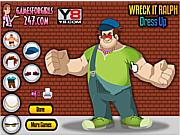 Wreck It Ralph Dress Up game