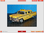 Russian Taxi Jigsaw game