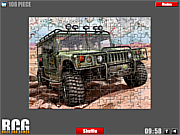 Hummer Jigsaw game