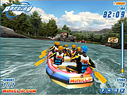 White Water Rafting game