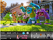 Monsters University Hidden Objects Game game