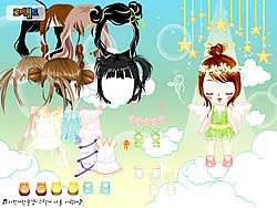 Baby Angel Dress Up game