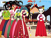Jouer au jeu gratuit Asian Dress Up