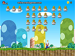 Mario World Invaders game