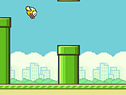 Flappy Bird Flash spel
