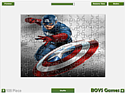 Captain America Jigsaw game