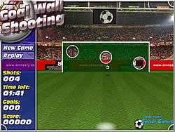Goal Wall Shooting game