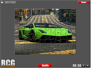 Lamborghini Jigsaw game