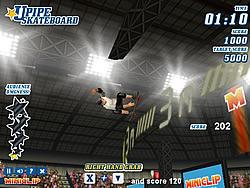 Upipe Skateboard game