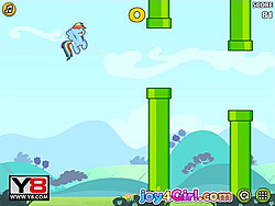 Jucați jocuri gratuite Flappy Little Pony