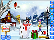 Funky Frosty Decoration game