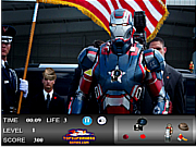 Iron Man Hidden Objects game