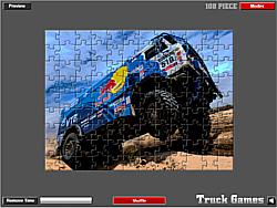 Dakar Truck Jigsaw game