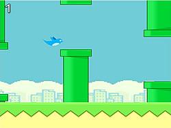 gra Flappy Blue Bird